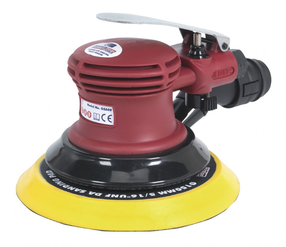 Generation Series Air Palm Orbital Sander 150mm Dust-Free